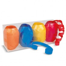 Ringelband 4er Set blau-rot-orange-gelb